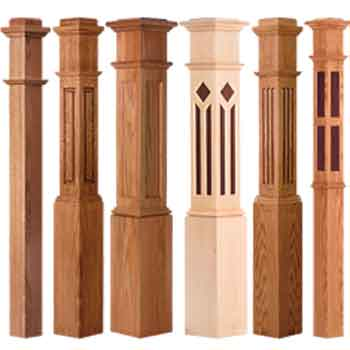 Box Newel Posts