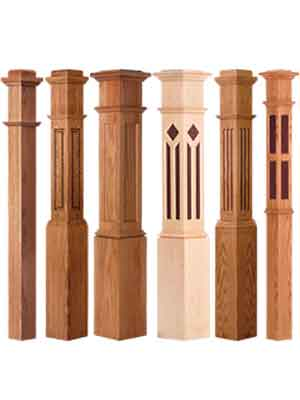 Wood Stair Parts Handrail Iron Amp Wood Balusters