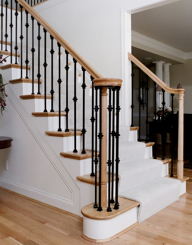6010 Handrail Wood Stair Hand Railing Lj 6010 Profile