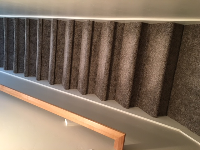 Finishing basement stairs wood stairs for Finishing a basement step by step guide