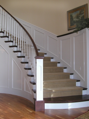Box Newel with Traditional Balusters & Newel Posts | Stair Parts Blog Aboutintivar.Com