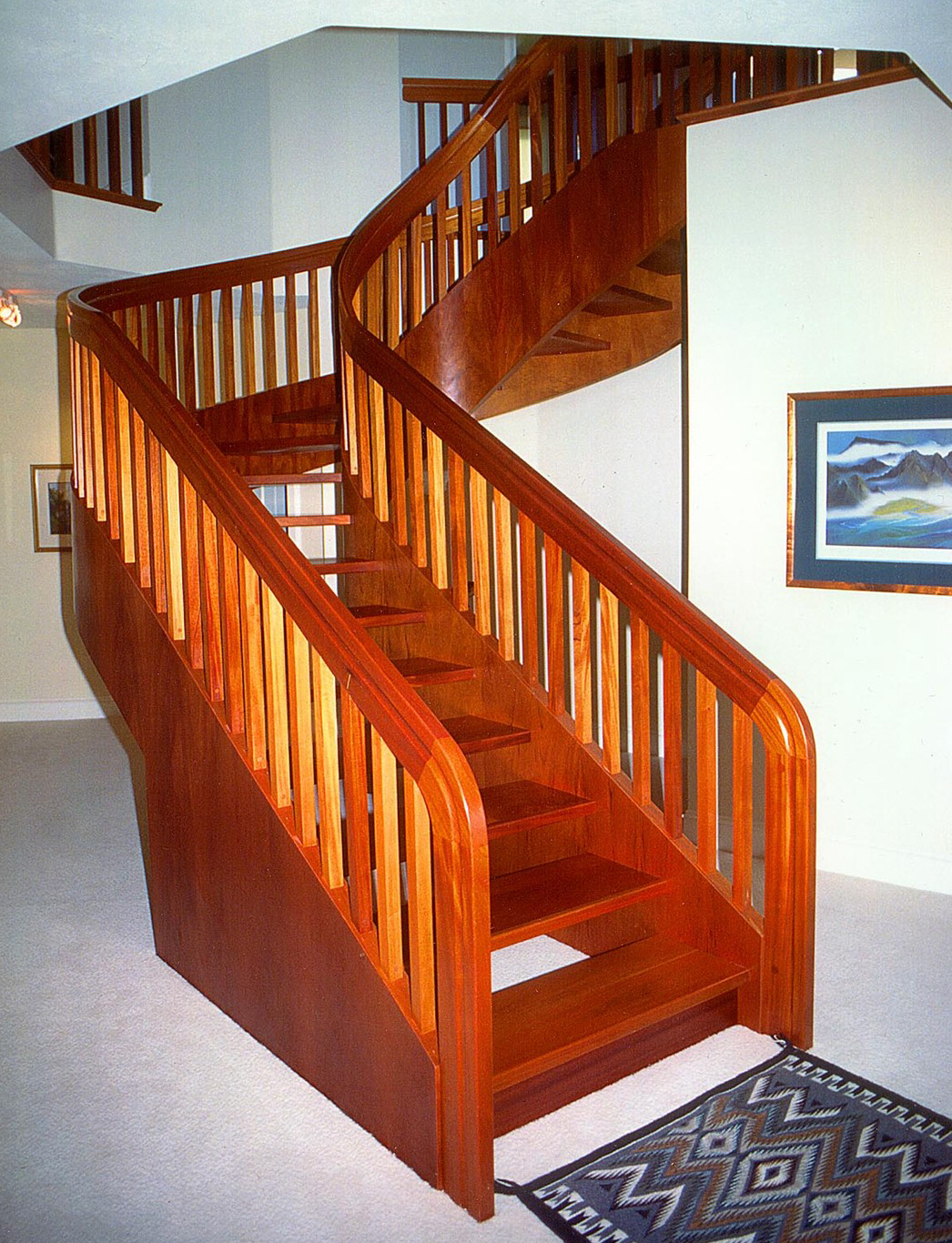 How Your Stair Handrail Determines The Look Of Your Staircase