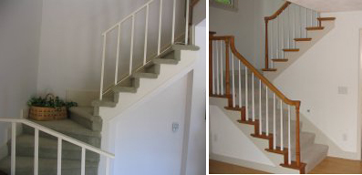 Exceptionnel False Tread Caps And Balustrade Upgrade