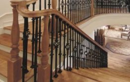 Stair Makeover U2013 Replacing Wood Balusters With Wrought Iron Balusters