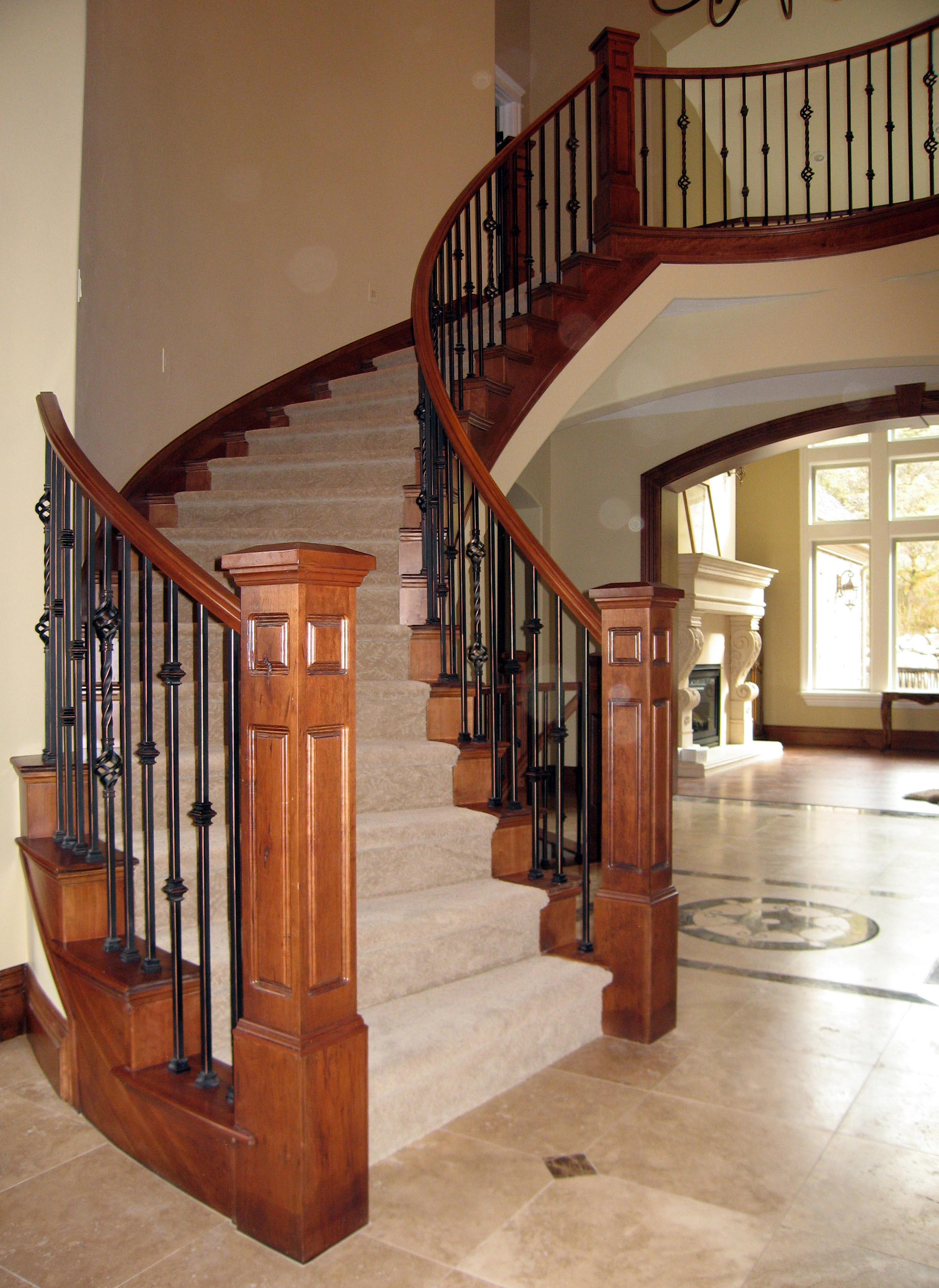 Red Alder Stair Parts For New Construction Or Stair