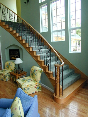 Determining The Number Of Balusters Your Stairway Requires And Their Spacing  Is A Simple Process That Requires Only A Couple Of Steps.