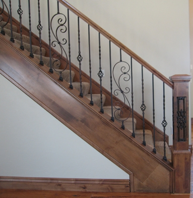 Stair Balusters: Calculations And Layout Atop Knee Wall