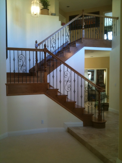 What is a stair or railing skirtboard parts