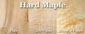 hard maple wood grain