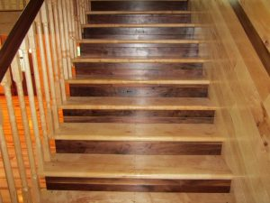 Attractive Hard Maple Stair Treads