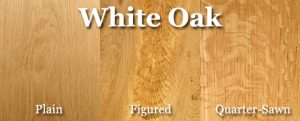 Quartersawn White Oak Stairs
