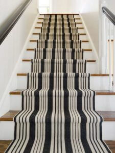 Use Stair Rugs On Each Step: