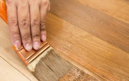 How To Stain Wood Stair Railing Or Treads
