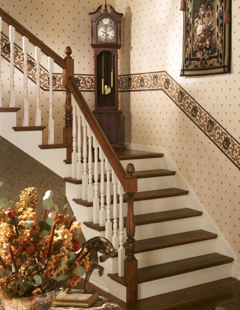 6519 Handrail Wood Stair Hand Railing Lj 6519 Profile