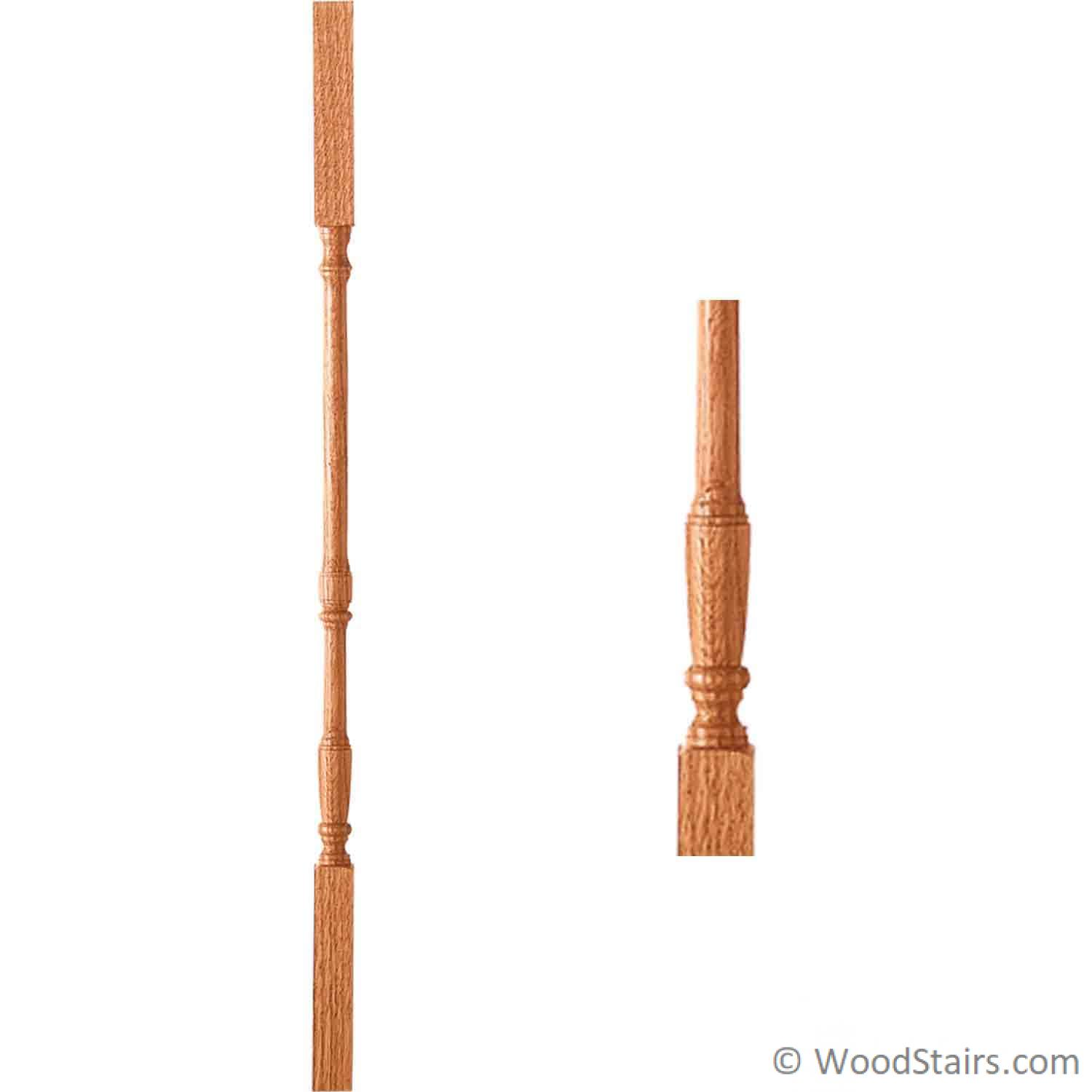 Poplar Square Wooden balusters 10 Pack 1 1//4x 42 5060