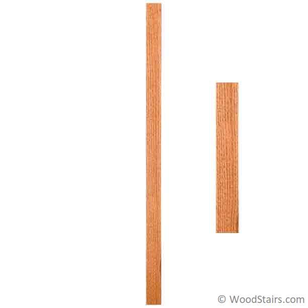 5360 Square Wood Stair Baluster - Square Baluster LJ-5360 ...