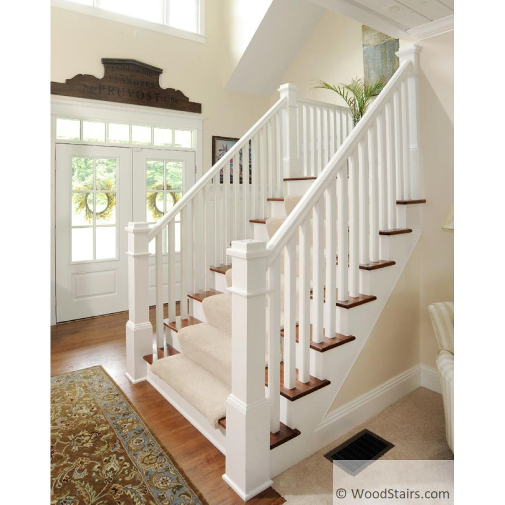 5360 Square Wood Stair Baluster Square Baluster Lj 5360