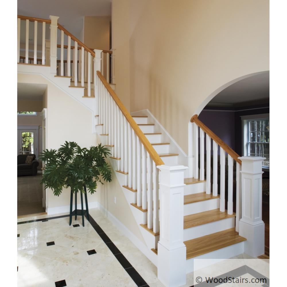 5360 Square Wood Stair Baluster