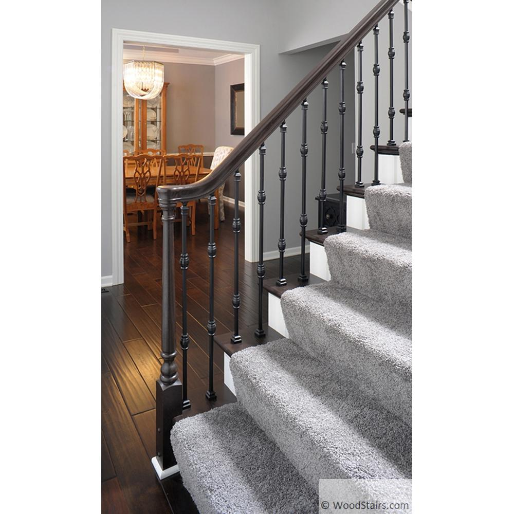 Wood Stair Hand Railing LJ-6010 Profile