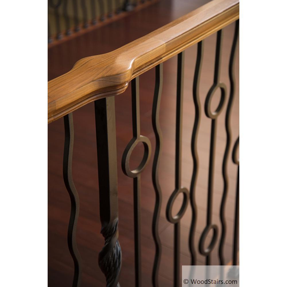 6701 Handrail Wood Stair Hand Railing Lj 6701 Profile