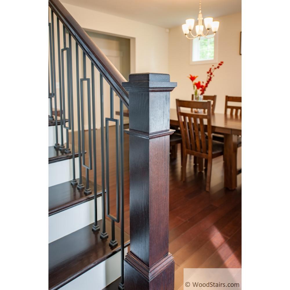 6210 Handrail Wood Stairs Hand Railing Lj 6210 Profile