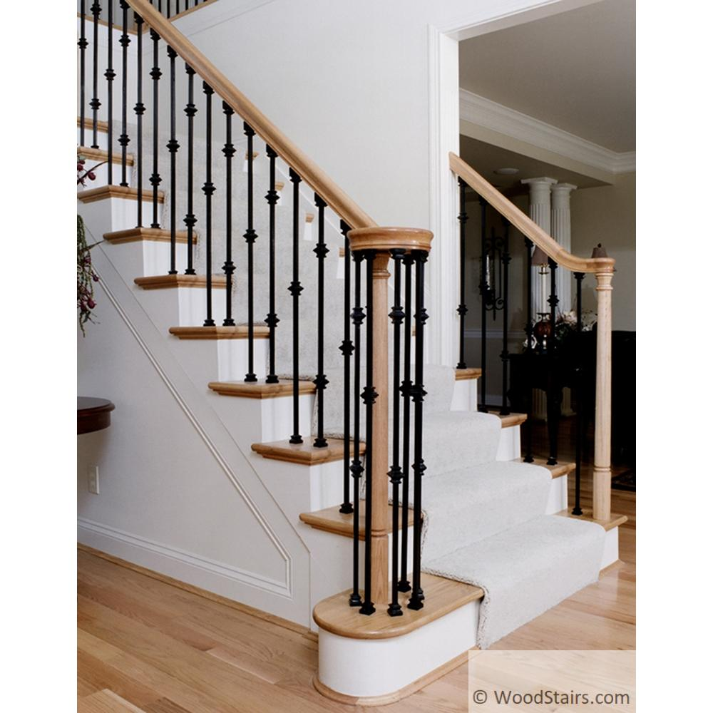 Lih Hol2knuc44 Double Knuckle Baluster Wood Stair Hollow