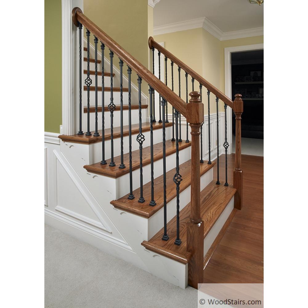 Wrought Iron Staircase: LI-PROLVL IronPro Level Kit Wood Stair Iron Baluster Fasteners