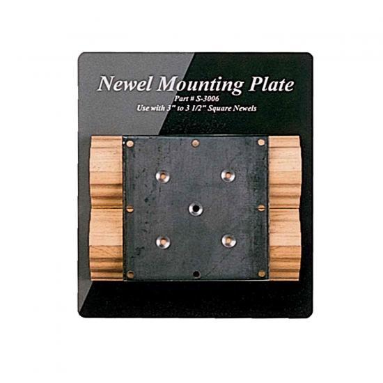 Lj 3006 Newel Mounting Plate Wood Stairs Hardware Lj 3600